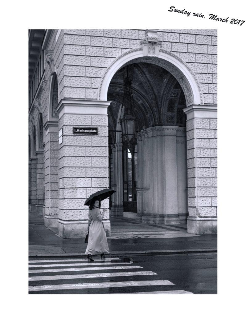Rain in Vienna