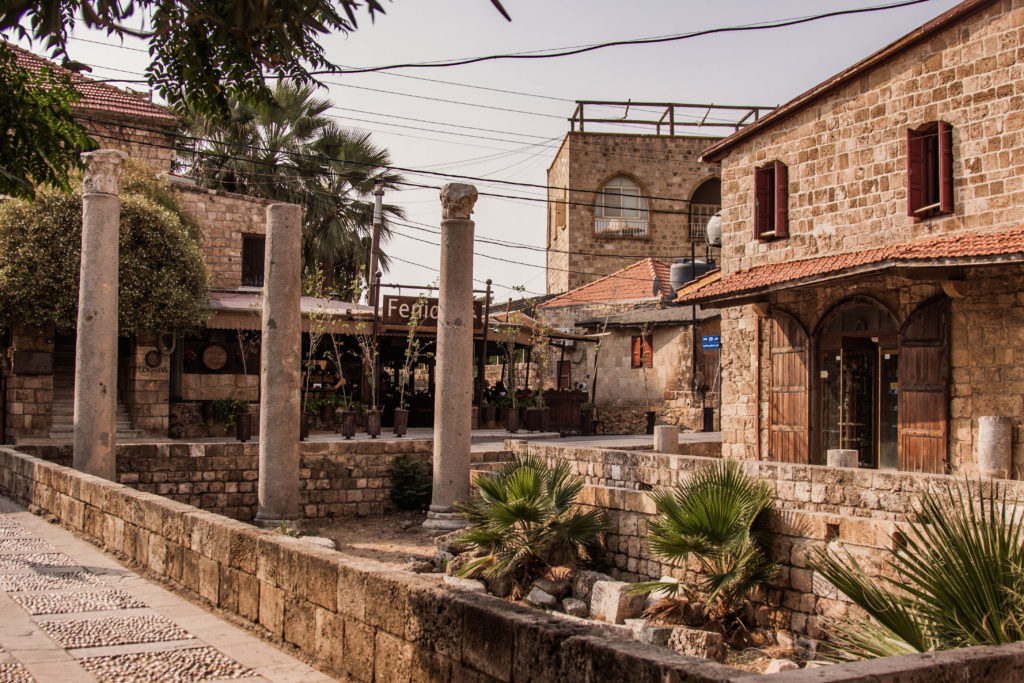 Byblos square