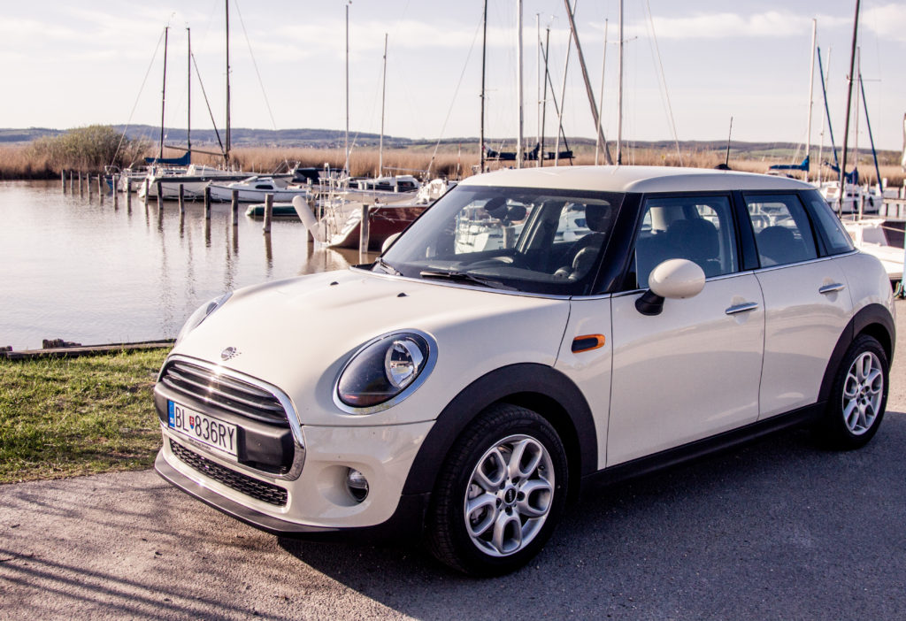 Mini Cooper road trip Neusiedl am See