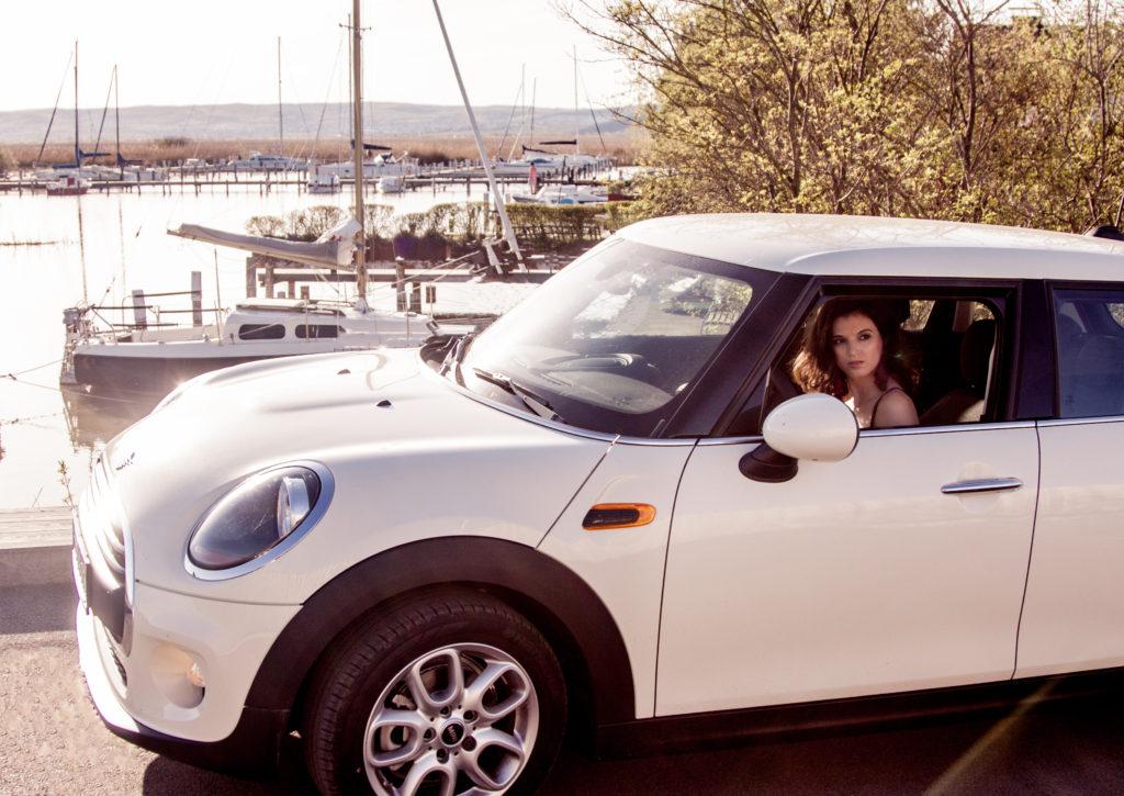 Mini Cooper road trip