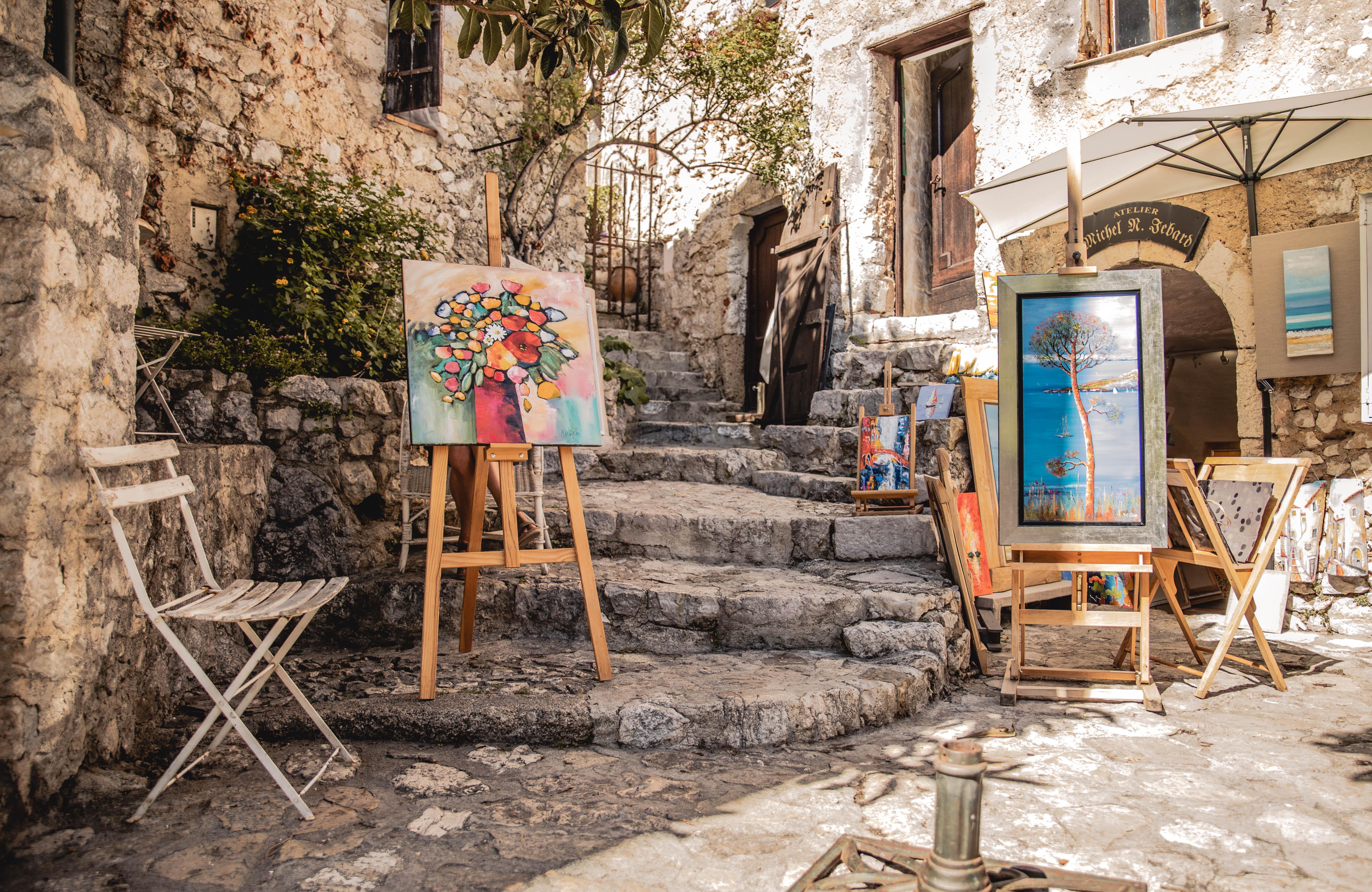 Èze street