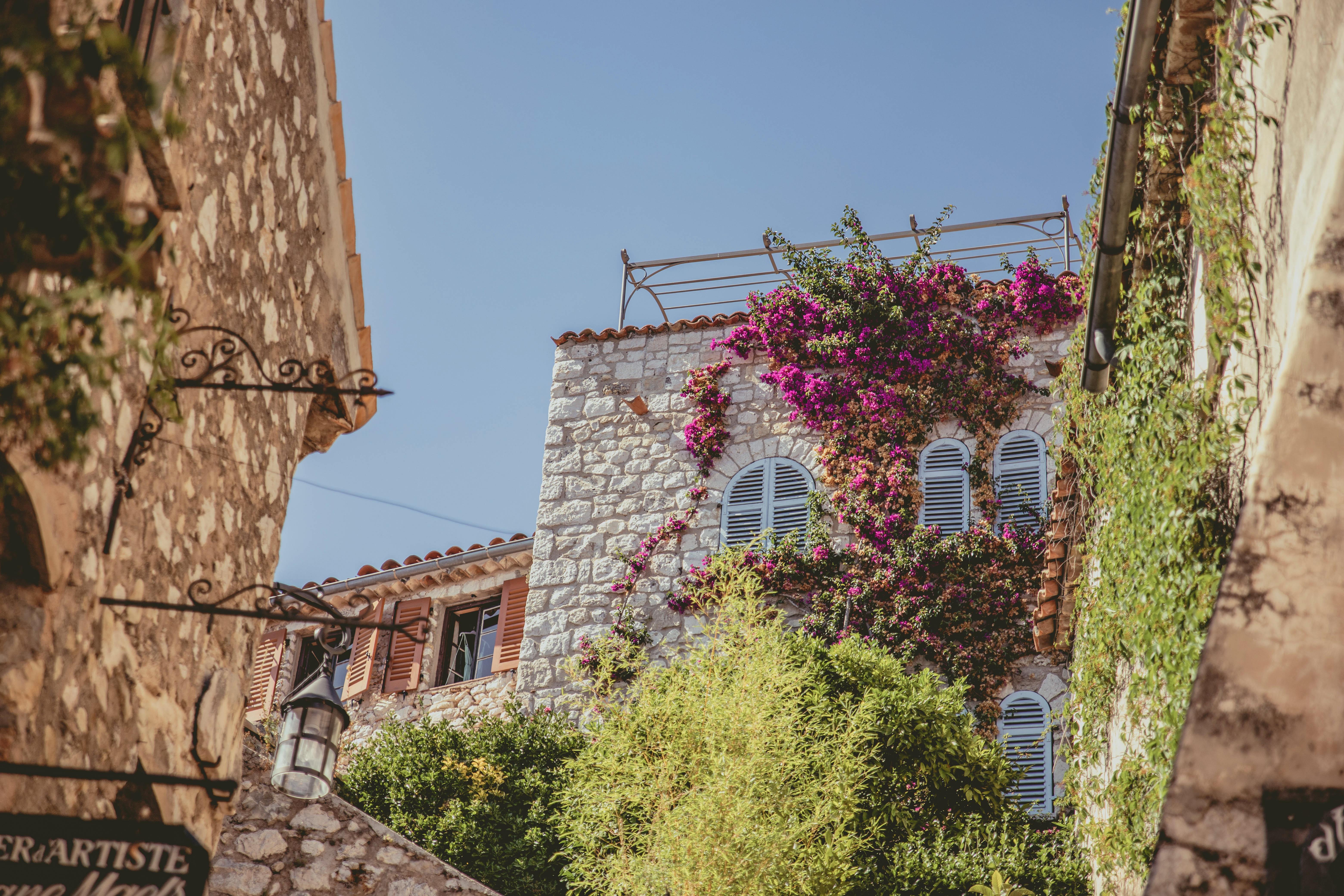 Èze streets Côte d'Azur
