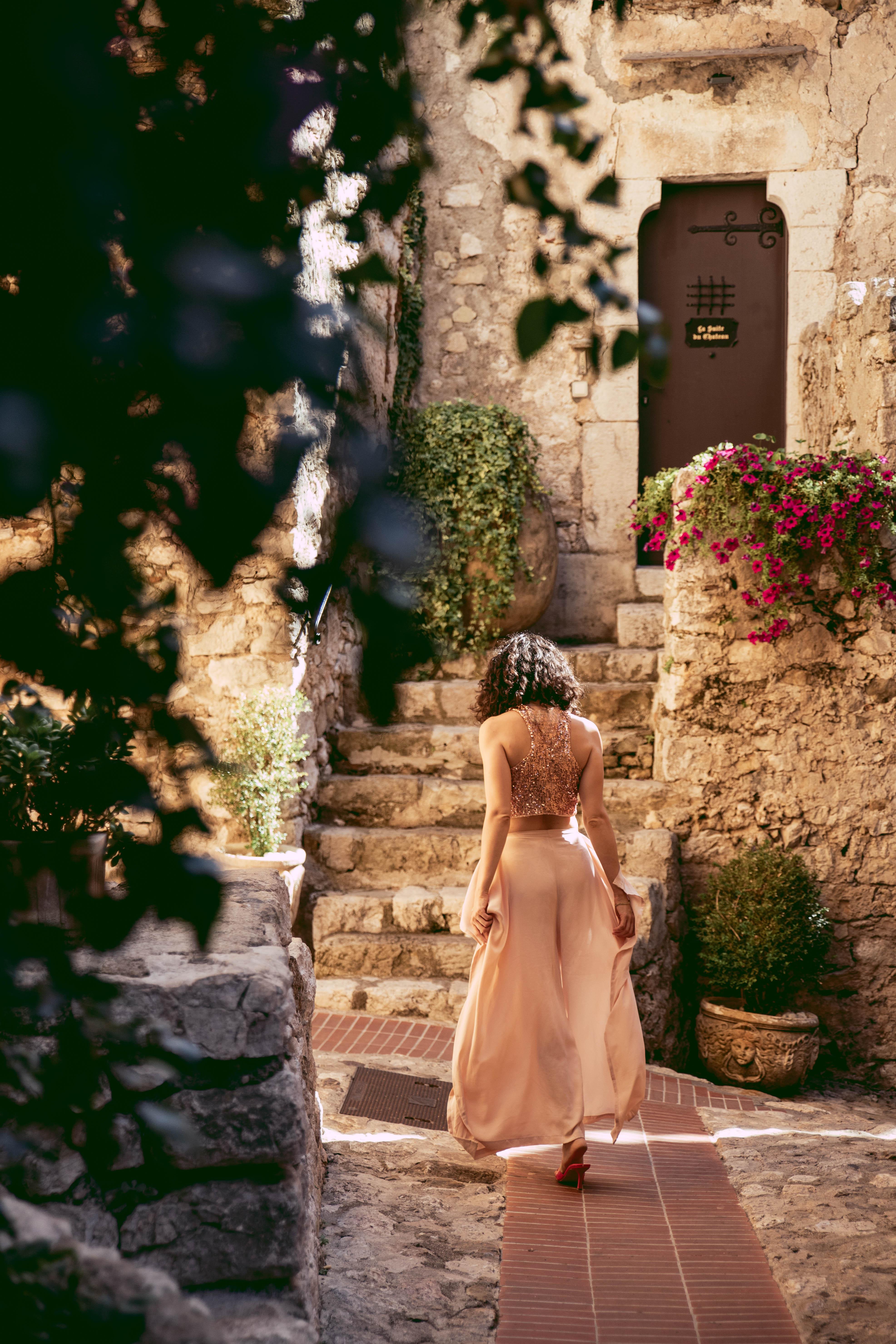Èze stone streets Côte d'Azur